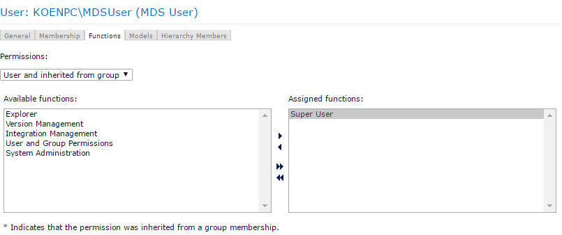 assign user to super user role