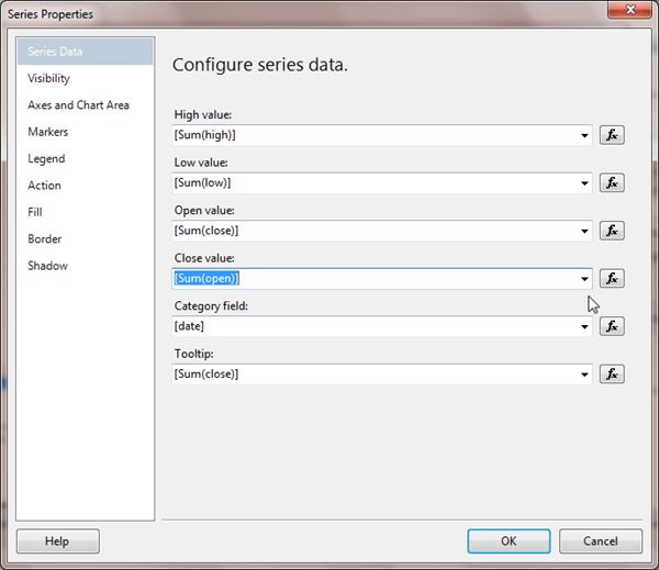 Configure Series Data in SSRS