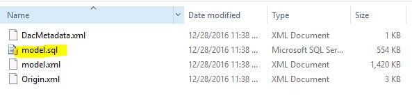 The final result is that the DAC package is extracted to a folder