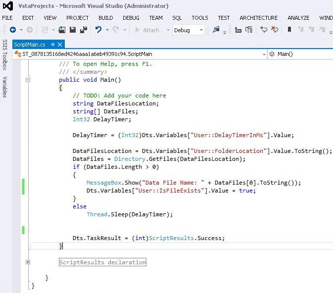 Developing a File Watcher Task for SQL Server Integration