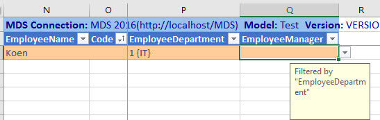 department filters manager in addin