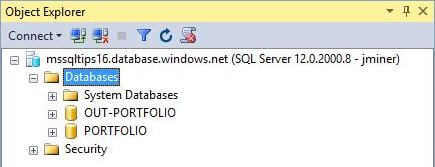 Show database copy (SSMS)