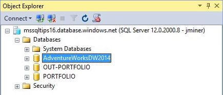 SSMS With 3 Databases