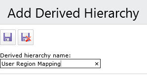 add derived hierarchy in Master Data Services