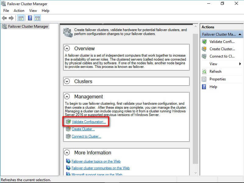 Step by step installation of sql server 2016 on a windows for Consul high availability