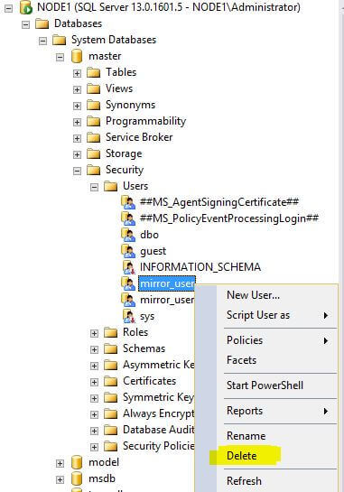 Fixing SQL Server Database Mirroring Expired Certificates