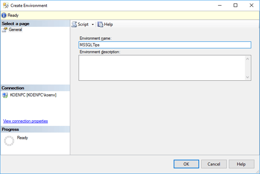 Setup Environment Variables in SQL Server Integration Services