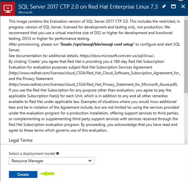 Quickly Setup Sql Server On Linux Using An Azure Sql Server Vm Template
