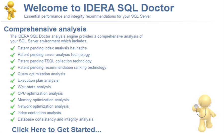 sql doctor analysis