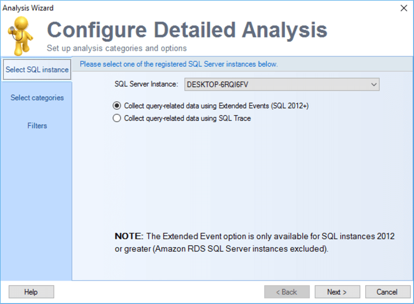sql doctor analysis configuration