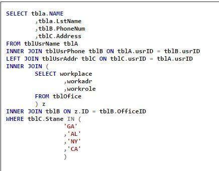 Standardize SQL Server T-SQL Code Formatting