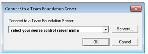 Connect to a Team Foundation Server in SQL Server Management Studio