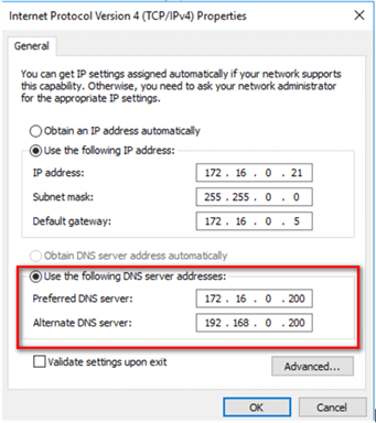 Deploy a Windows Server 2016 Failover Cluster without Active
