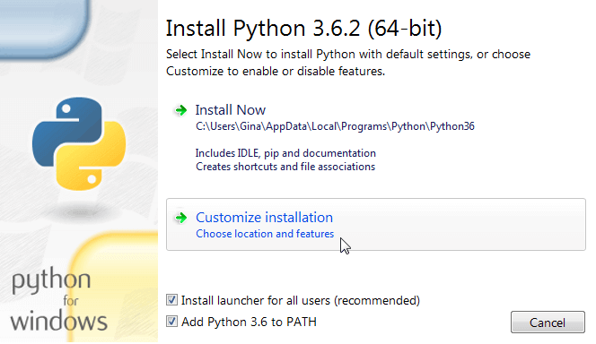 Installing Python and Running Python Scripts from SQL Server