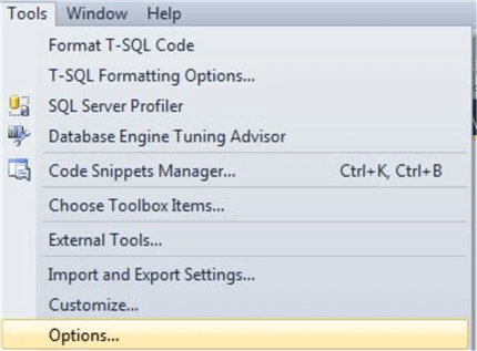 Check Plug-in installation in SSMS at Tools then Options