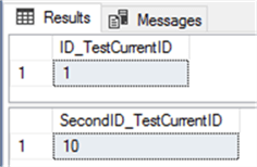SELECT IDENT_CURRENT for two SQL Server tables