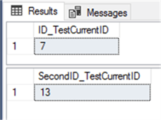 SELECT IDENT_CURRENT() for current table