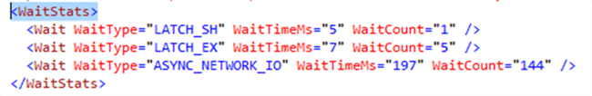 SQL Server WaitStats as an XML Plan