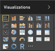 Power BI Visualization Gallery - Stack Bar Chart