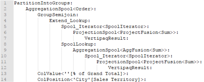 Extracting a DAX Query Plan With Analysis Services 2016