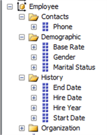 display folders in SSAS Multidimensional
