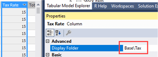 Nesting display folders in Analysis Services Tabular 2016