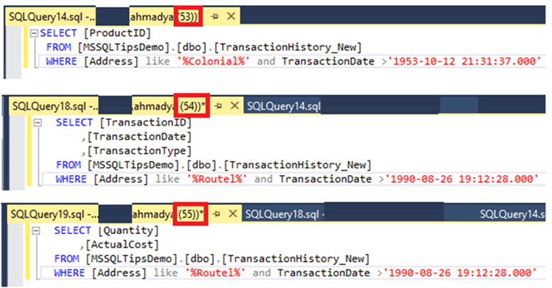 Retrieve Actively Running T-SQL Statements from SQL Server