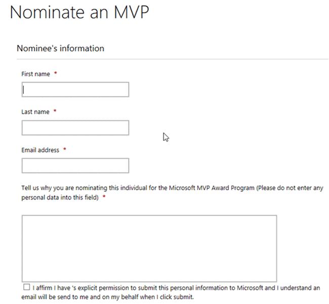 MVP Nominee