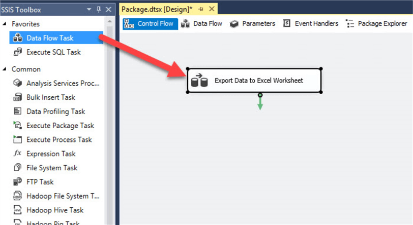 ssis data flow task