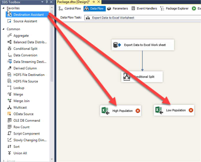 Export SQL Server Data to Multiple Excel Worksheets with Integration
