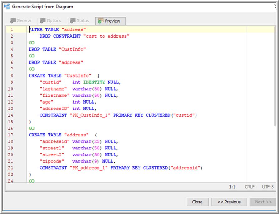 ERD Final Script - Description: ERD Final Script