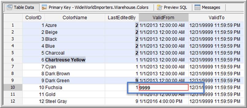 Incorrect Data Type - Description: Incorrect data type highlight
