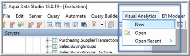 New Visual Analytics - Description: New Visual Analytics