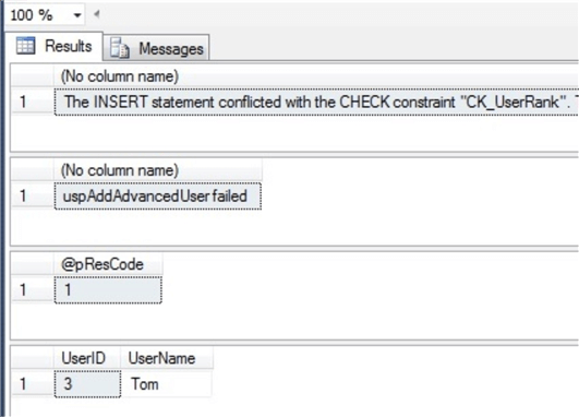 Debugging T-SQL Code in SQL Server Management Studio