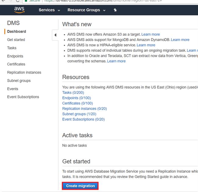Migrating On-Premises SQL Server Data to Amazon RDS