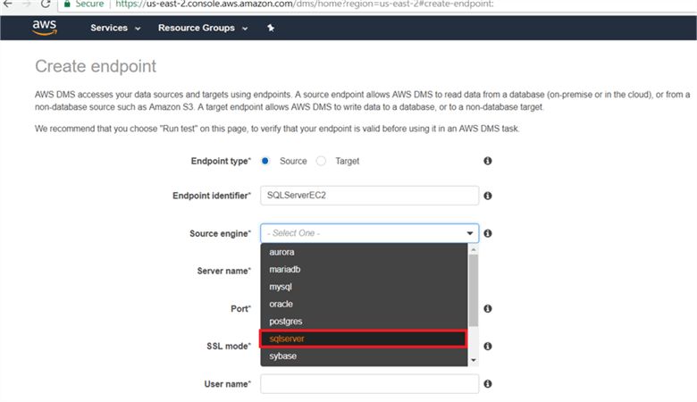 Migrating On-Premises SQL Server Data to Amazon RDS