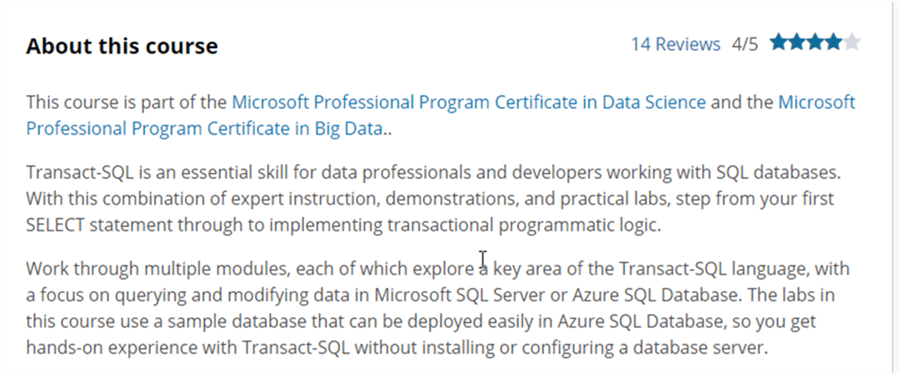 Microsoft Professional Program (MPP) Overview