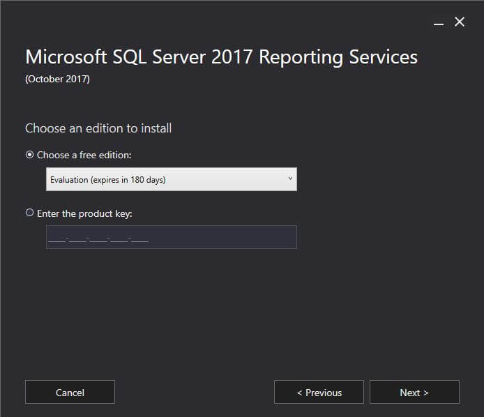 SQL Server Reporting Services Download Page