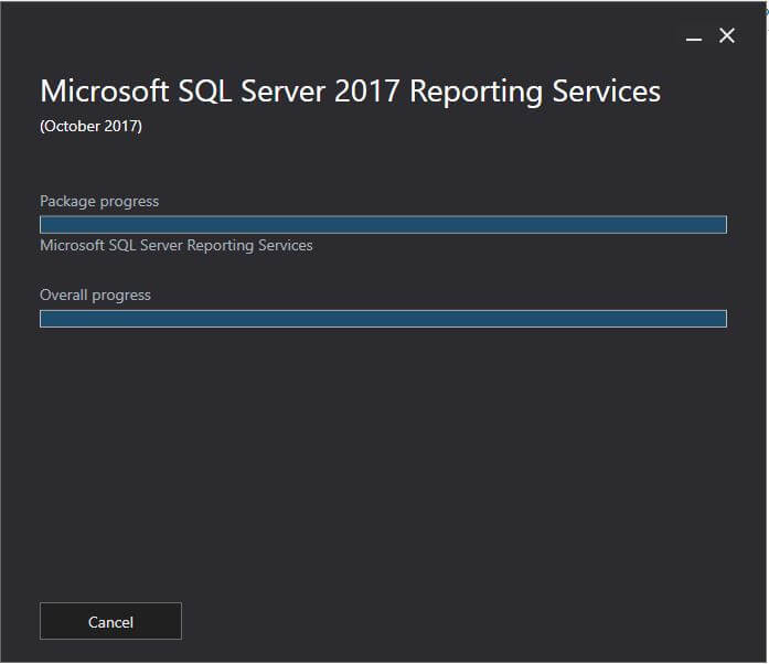 SQL Server Reporting Services- installation of  reporting services
