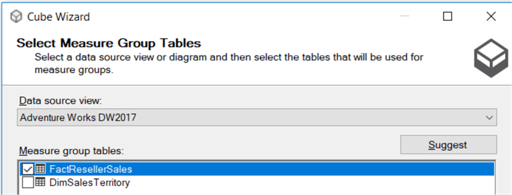 measure group table