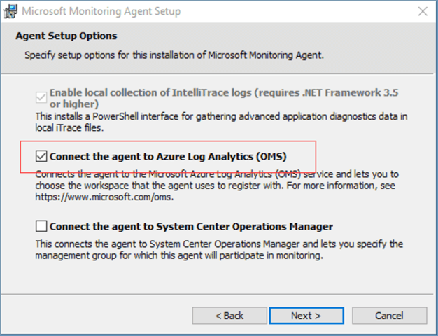 install oms agent