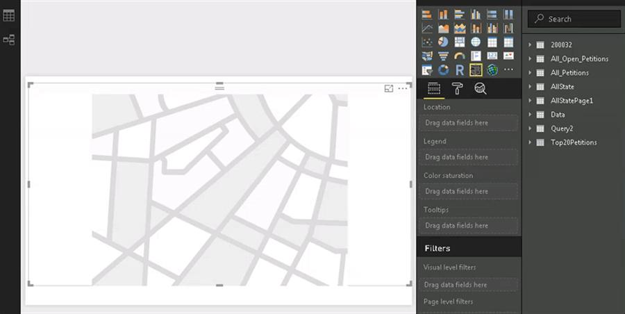 Creating Custom Maps to Display Data with Power BI