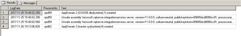 Even log example (CLR) - SSIS