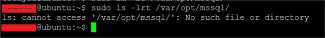 sql server linux command line
