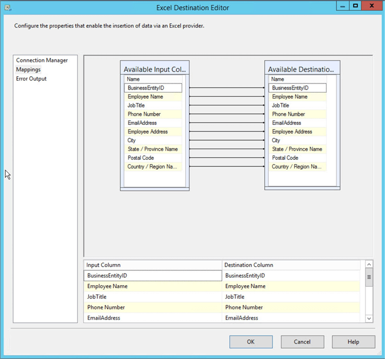 Export Sql Server Data To Multiple Excel Worksheets Using Sql Server