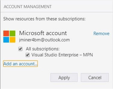 Azure Storage Explorer - Confirm Action - Description: Do you really want to add this account?
