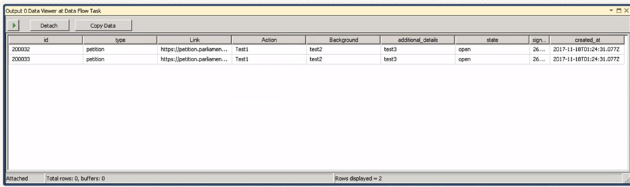 Importing Complex JSON files using SQL Server Integration Services