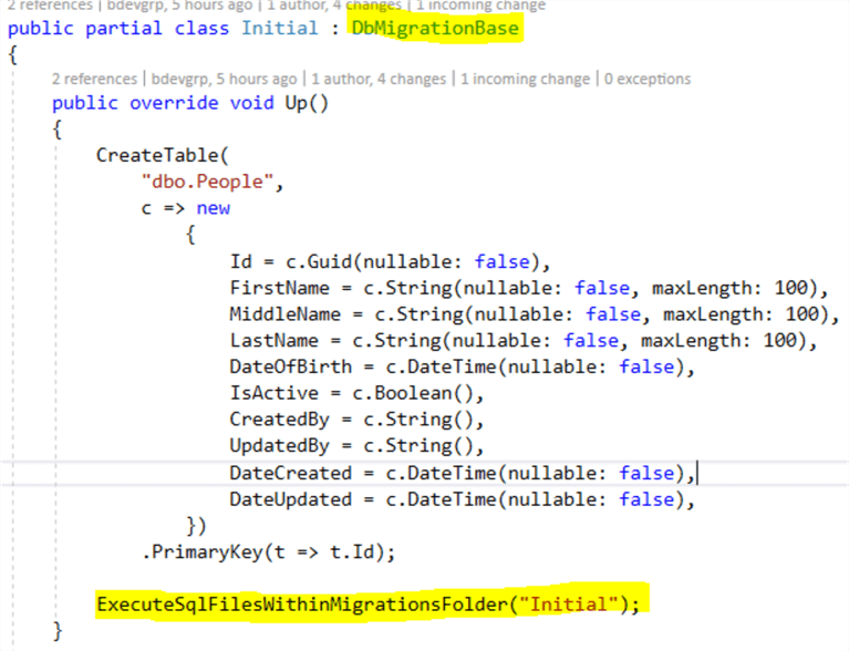Entity Framework Code First Stored Procedure Migration