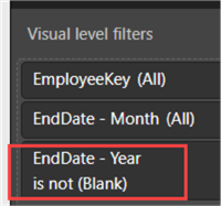 remove blank dates