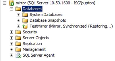 SQL Server Database Stuck in Restoring State